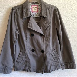 OLD NAVY Peacoat XL in Putty with Black Buttons
